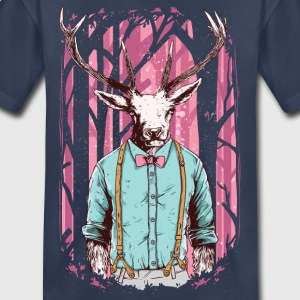 Fashion Deer with Bow Tie Kids' Shirts - Kids' Premium T-Shirt