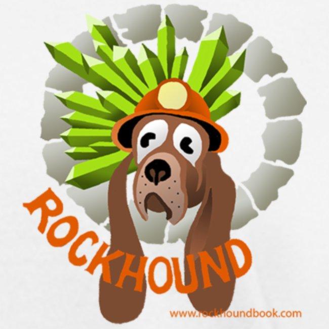 Rockhound Womens standard white Blue T shirt