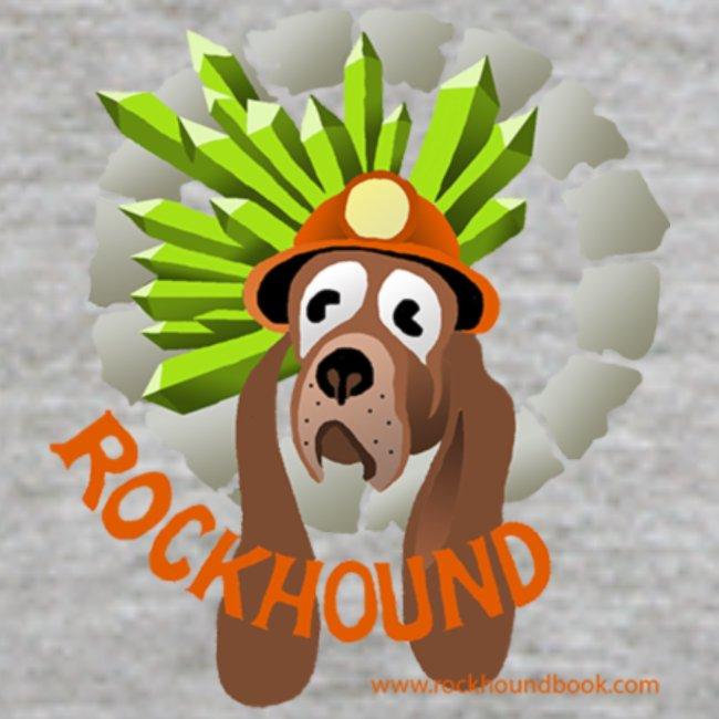 Rockhound Men's Black/Grey Baseball T-Shirt