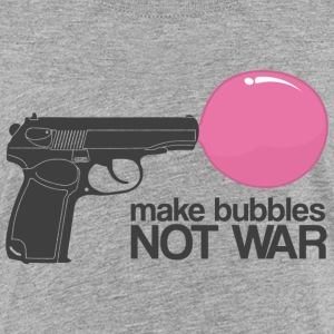 Make bubbles not war Kids' Shirts - Kids' Premium T-Shirt