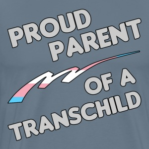 Proud Trans child Parent - Men's Premium T-Shirt