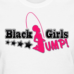 Black Girls Jump Women's T-Shirt - Women's T-Shirt