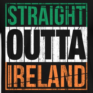 Straight Outta Ireland T-Shirts - Men's Premium T-Shirt