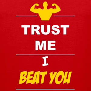 Trust me I beat you 2c Sportswear - Men's Premium Tank