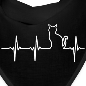 MY HEART BEATS FOR CATS! Caps - Bandana