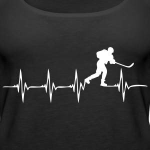 Heartbeat Ice Hockey 2 - Women's Premium Tank Top