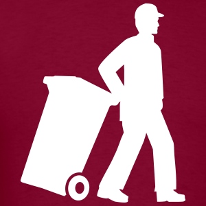 Garbage man T-Shirts - Men's T-Shirt