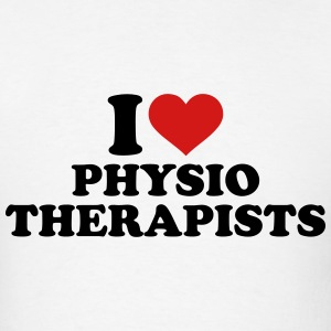 I love physiotherapists T-Shirts - Men's T-Shirt