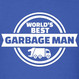 World's best garbage man T-Shirts - Men's T-Shirt