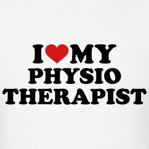 I love my physiotherapist T-Shirts - Men's T-Shirt