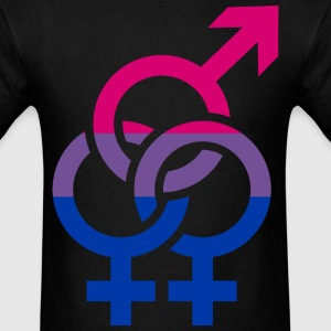Bisexual T-Shirts - Men's T-Shirt