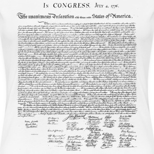 United States Declaration of Independence - Women's Premium T-Shirt
