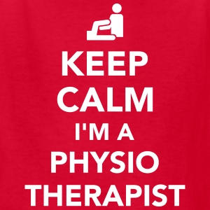 Keep calm I'm a physiotherapist Kids' Shirts - Kids' T-Shirt