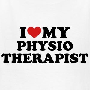 I love my physiotherapist Kids' Shirts - Kids' T-Shirt