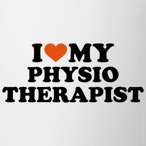I love my physiotherapist Mugs & Drinkware - Coffee/Tea Mug