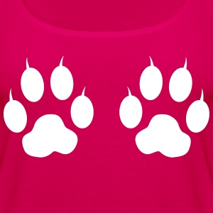 Cat Paws & Claws Tanks - Women's Premium Tank Top