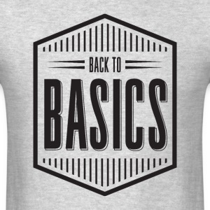 back to basics - Men's T-Shirt