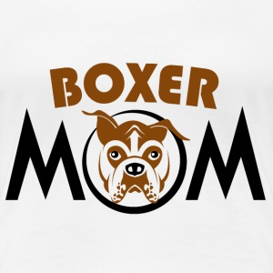 Boxer mom - Women's Premium T-Shirt