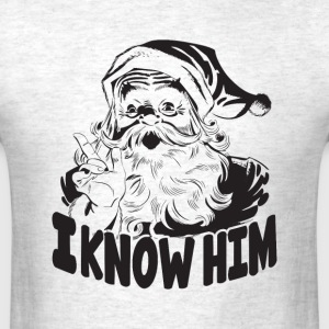 i know him - Men's T-Shirt