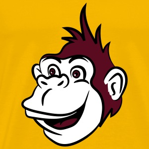 Gorilla monkey funny cool T-Shirts - Men's Premium T-Shirt