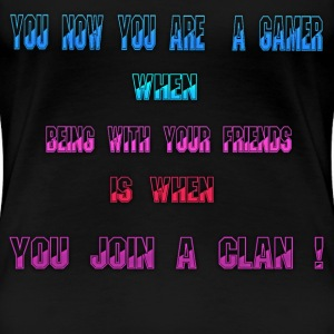 gamer slogan - Women's Premium T-Shirt