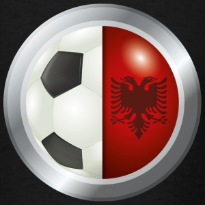 Albania Soccer - Men's T-Shirt
