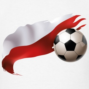Poland Soccer - Men's T-Shirt