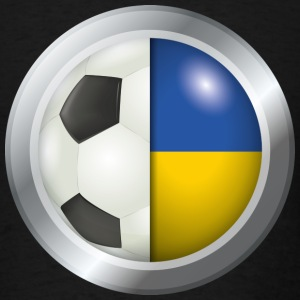 Ukraine Soccer - Men's T-Shirt