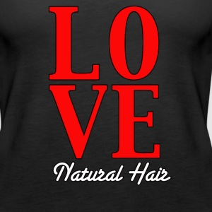 LOVE Natural Hair (Tank) - Women's Premium Tank Top