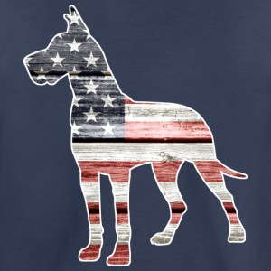 Patriotic Great Dane - Kids' Premium T-Shirt