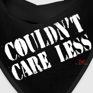 Care Less-dark prints - Bandana