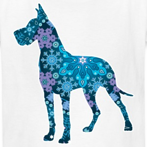 Bohemian Blue Great Dane Kids' Shirts - Kids' T-Shirt