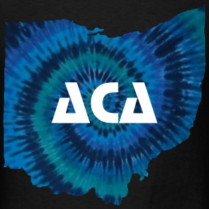 Tie Dye Ohio T-Shirts - Men's T-Shirt