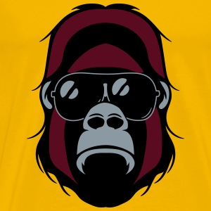 Gorilla agro head sunglasses T-Shirts - Men's Premium T-Shirt