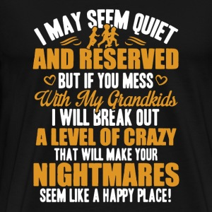 Seem Quiet Shirt - Men's Premium T-Shirt