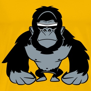 Gorilla agro cool sunglasses T-Shirts - Men's Premium T-Shirt