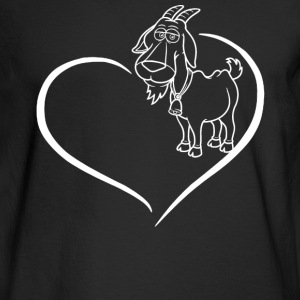 Goat Heart Shirt - Men's Long Sleeve T-Shirt