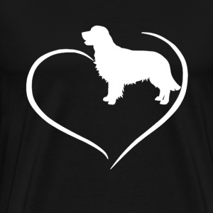 Great Pyrenees Heart Tee - Men's Premium T-Shirt