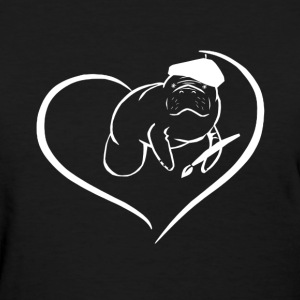 Manatee Heart Shirt - Women's T-Shirt