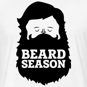 Beard T-Shirts - Fitted Cotton/Poly T-Shirt by Next Level