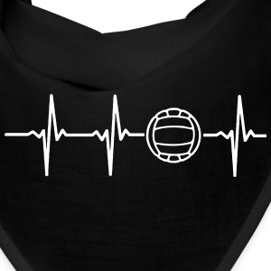 MY HEART BEATS FOR VOLLEYBALL! Caps - Bandana