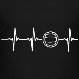MY HEART BEATS FOR VOLLEYBALL! Kids' Shirts - Kids' Premium T-Shirt