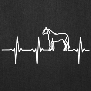 MY HEART BEAT FOR HORSES! Bags & backpacks - Tote Bag