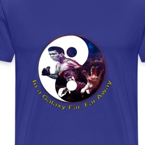Muhammad ali, Bruce lee,In a galaxy far, far Away - Men's Premium T-Shirt