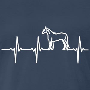MY HEART BEAT FOR HORSES! T-Shirts - Men's Premium T-Shirt