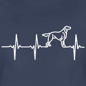 MY HEART BEATS FOR DOGS Women's T-Shirts - Women's Premium T-Shirt