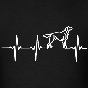 MY HEART BEATS FOR DOGS T-Shirts - Men's T-Shirt