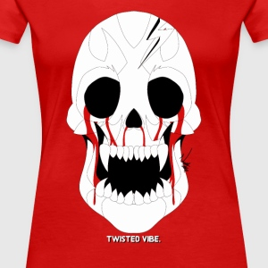 Twisted Vibe (Skull Logo) - Women's Premium T-Shirt