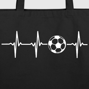 MY HEART BEATS FOR SOCCER Bags & backpacks - Eco-Friendly Cotton Tote