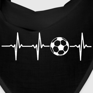 MY HEART BEATS FOR SOCCER Caps - Bandana